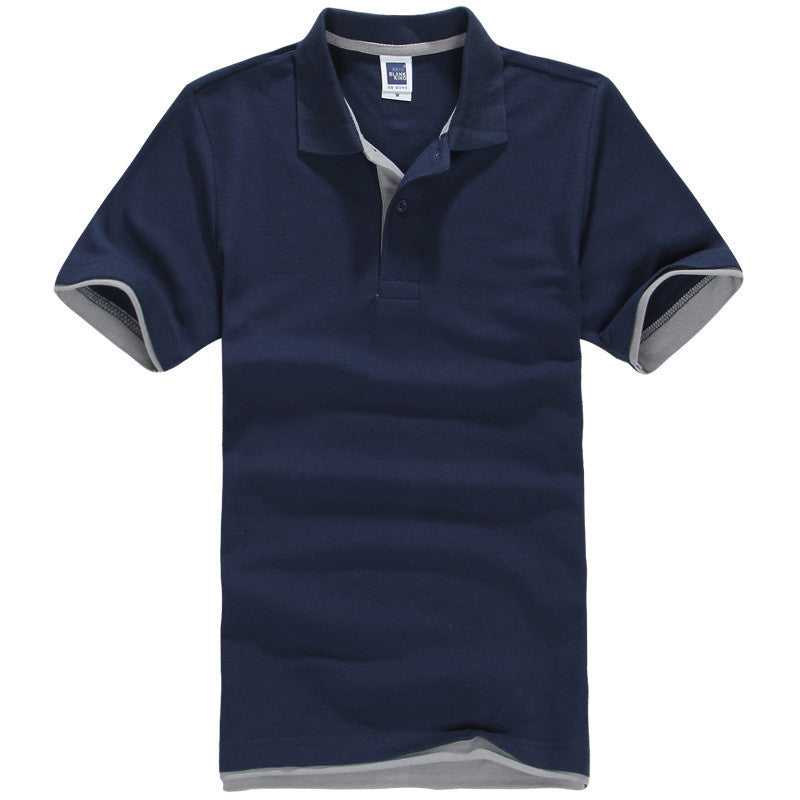 Men's Brand Polo Shirt Sport Cotton Short Sleeve - All In One Place With Us - 15