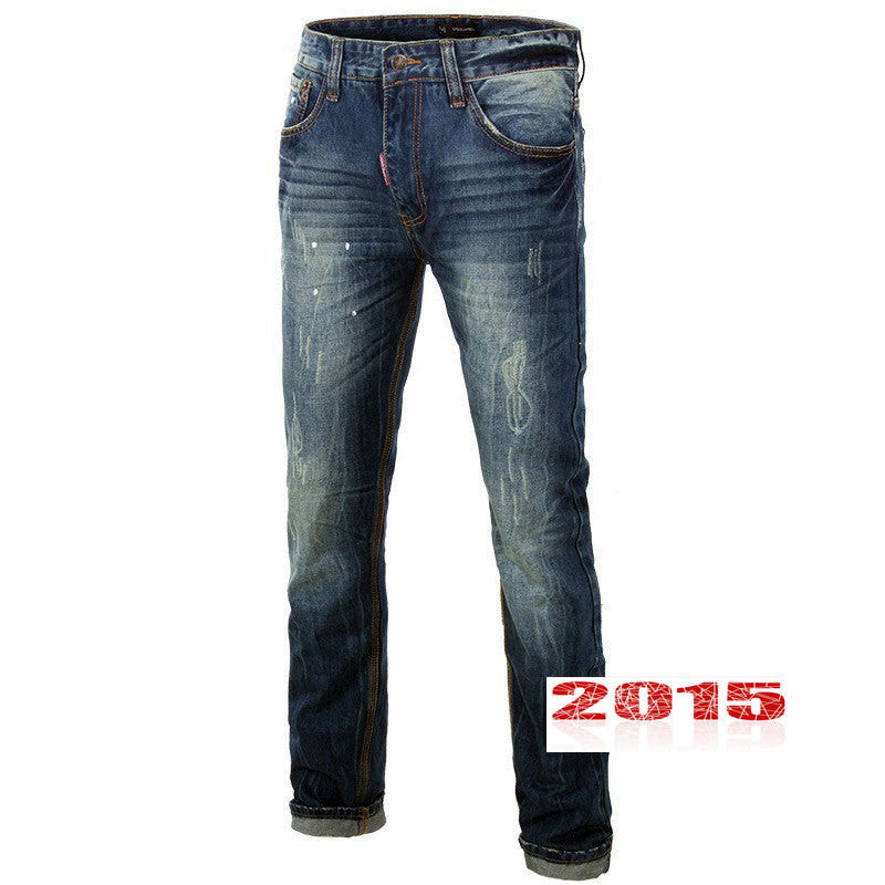 Famous Brand Designer Cotton men Jeans - All In One Place With Us - 1