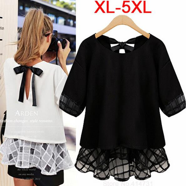 Fashion Women Cute Elegant Chiffon Blouse - All In One Place With Us - 1