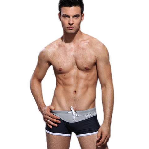 Men Color Sexy Slim Fashion Swimwear - All In One Place With Us