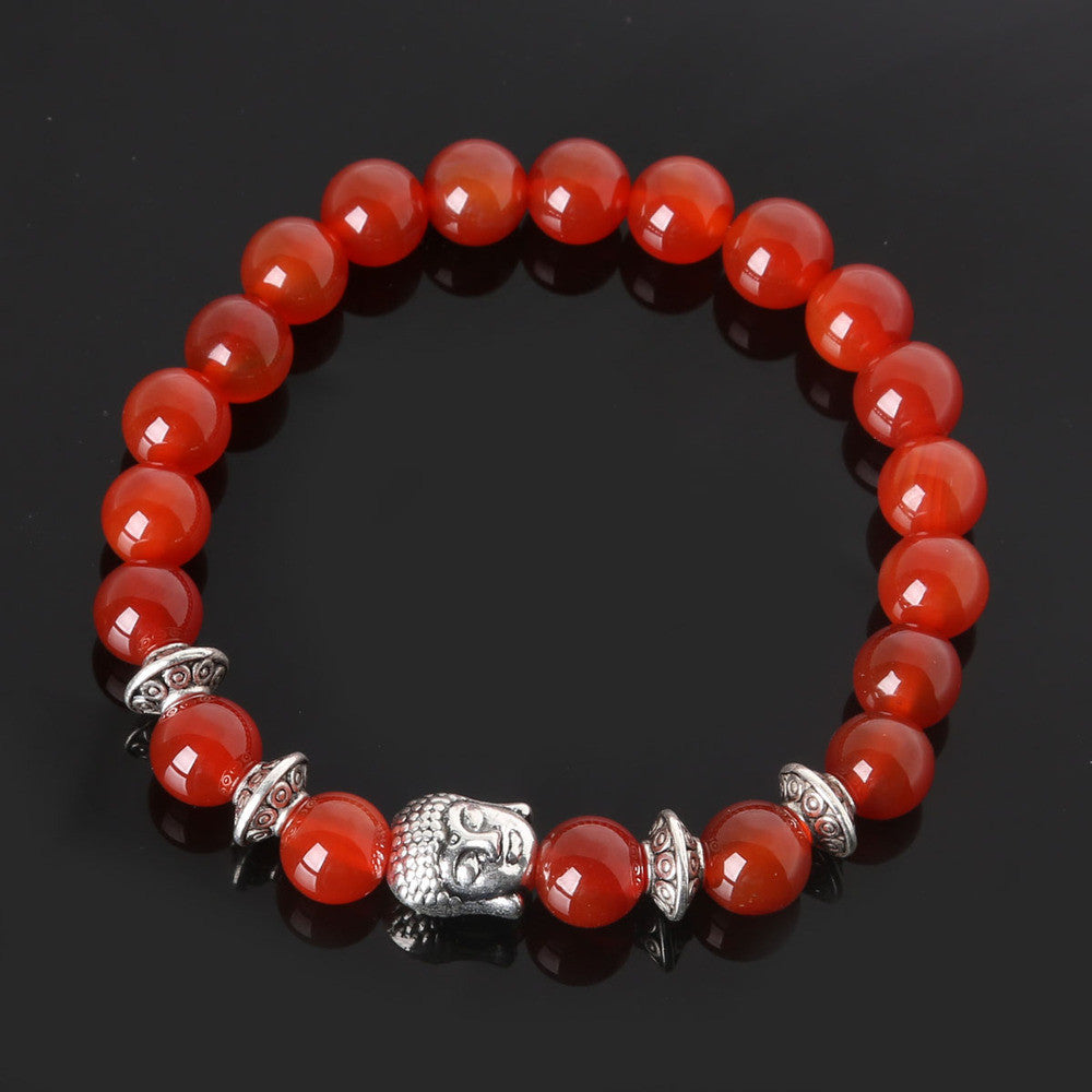 Men's Beaded Buddha Bracelet - All In One Place With Us - 12