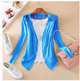 Women Lace Sweet Slim Blouse Cardigan - All In One Place With Us - 2