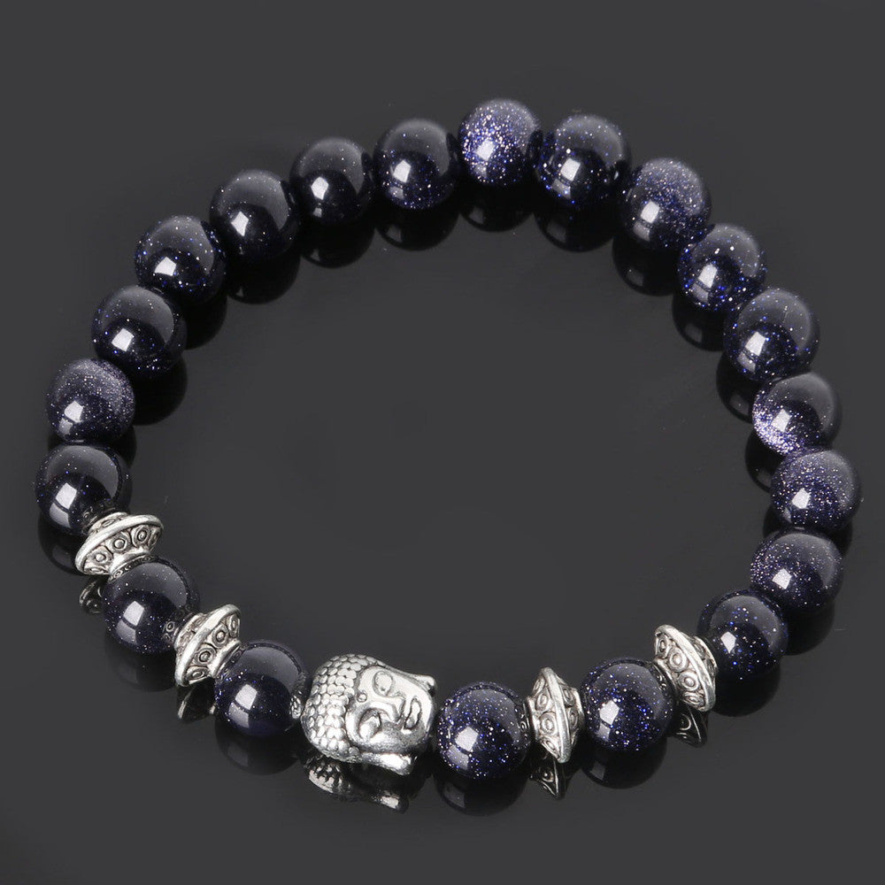 Men's Beaded Buddha Bracelet - All In One Place With Us - 20
