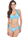 Sexy Bikinis Women Swimsuit  Bathing Suits Swim Halter - All In One Place With Us - 4