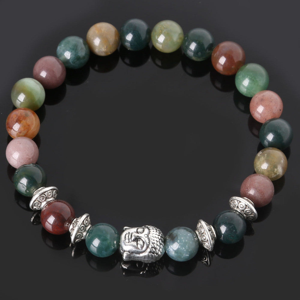 Men's Beaded Buddha Bracelet - All In One Place With Us - 9