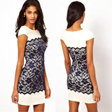 Fashion Women Lace Party Dress - All In One Place With Us - 1