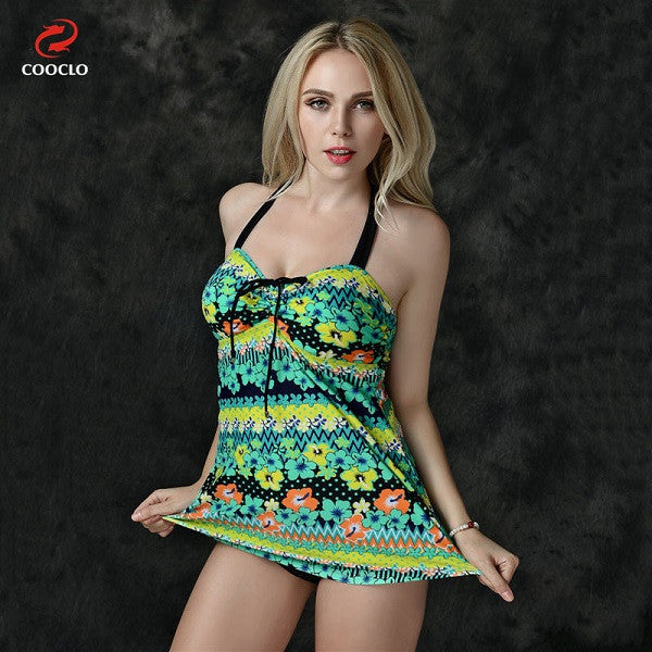 Women Fashion Floral Print Cute Swimwear - All In One Place With Us - 2