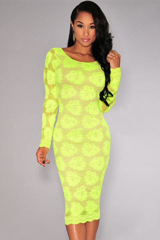 Women Floral Lace Sexy Dress - All In One Place With Us - 1