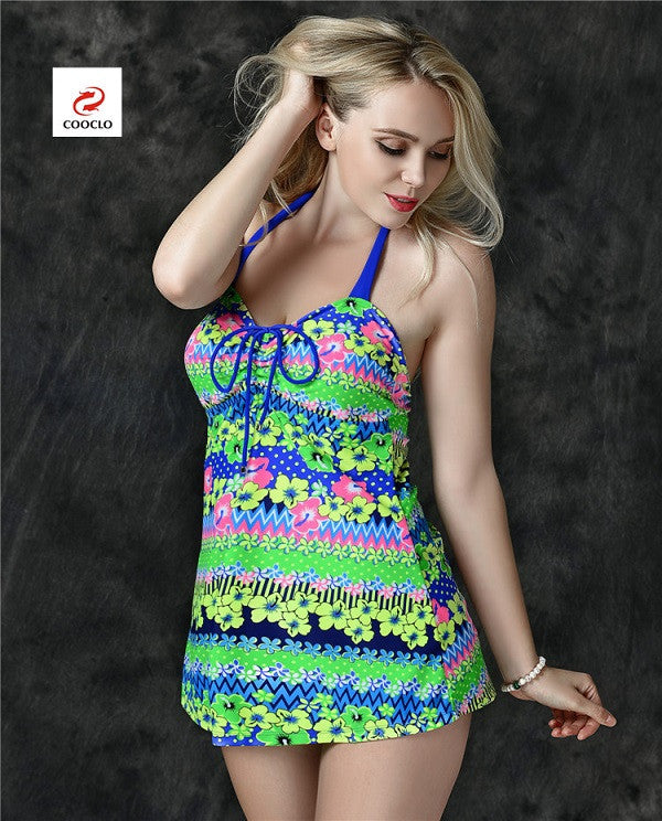 Women Fashion Floral Print Cute Swimwear - All In One Place With Us - 4