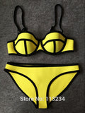 New Fashion Mesh Swimwear Women Sexy PUSH UP - All In One Place With Us - 15