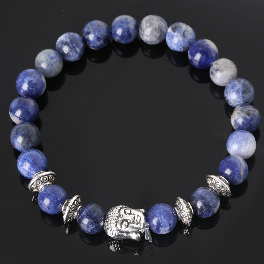 Men's Beaded Buddha Bracelet - All In One Place With Us - 18