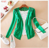Women Lace Sweet Slim Blouse Cardigan - All In One Place With Us - 7