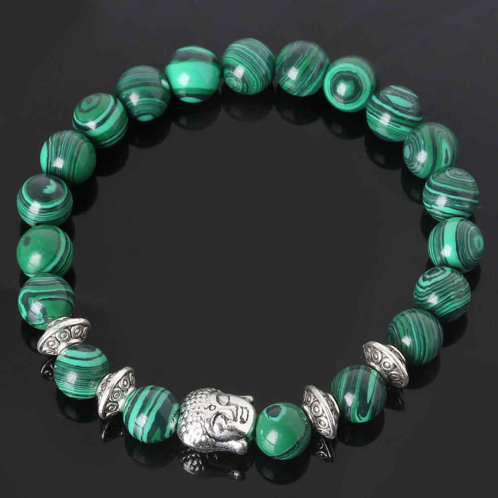 Men's Beaded Buddha Bracelet - All In One Place With Us - 14