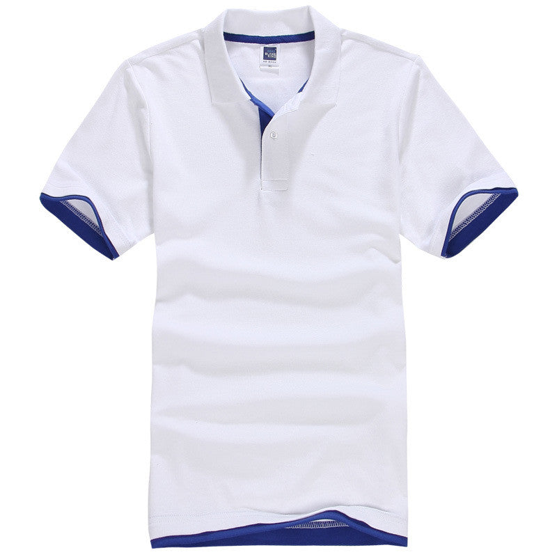 Men's Brand Polo Shirt Sport Cotton Short Sleeve - All In One Place With Us - 11