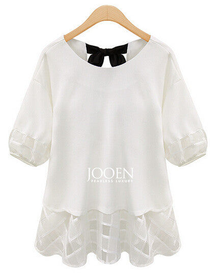 Fashion Women Cute Elegant Chiffon Blouse - All In One Place With Us - 2