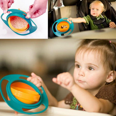 Universal Rotate Spill Proof Lunch Box Bowl Dishes - Free Shipping - All In One Place With Us