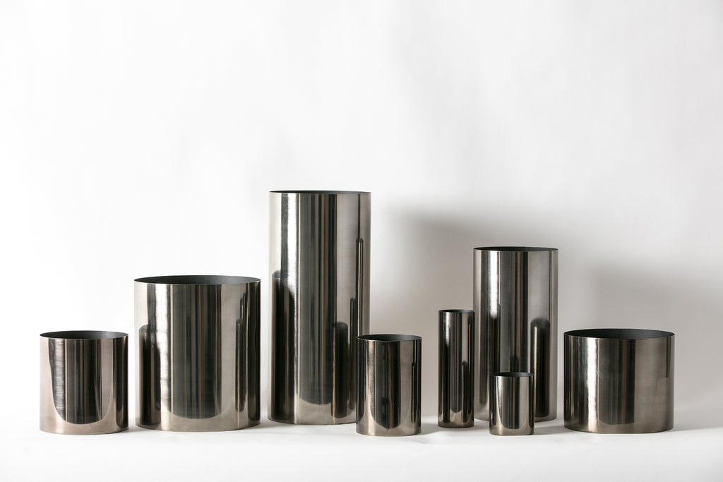 Gunmetal Vessels - Vases and Planters