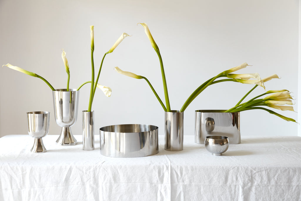 Silver Vessels - Vases and Planters