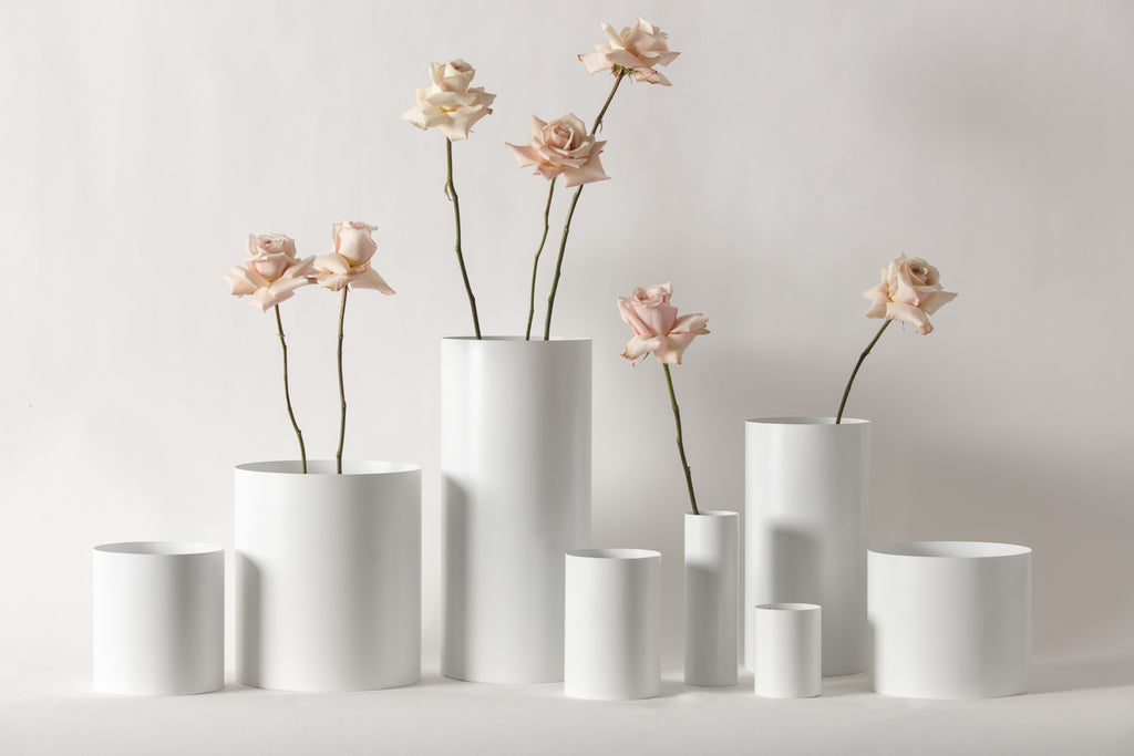 White Vessels - Vases and Planters