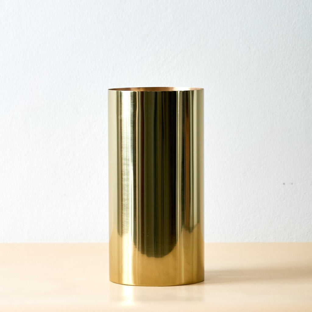 Manor Brass Vase