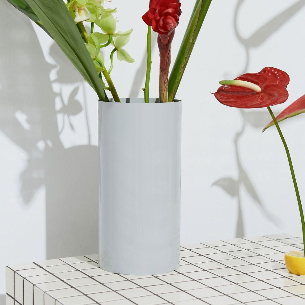 Manor Fog Grey Vase
