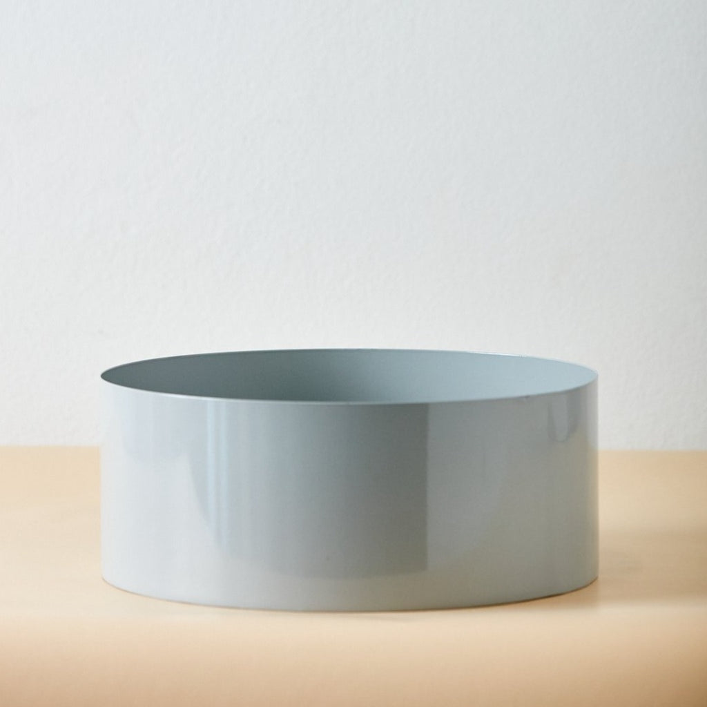 Basin Fog Grey Vase
