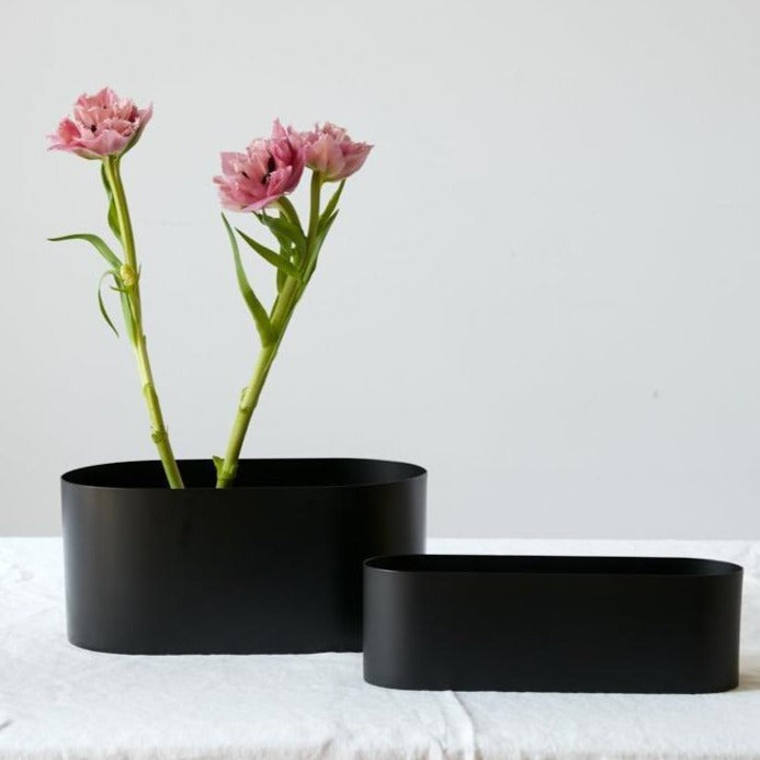 Love Boat Matte Black Vessel