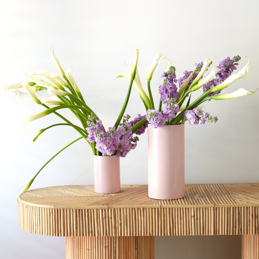 Manor Pink Lemonade Vase