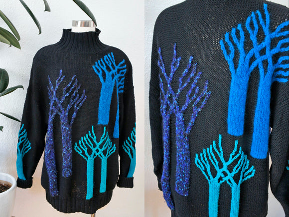 Tony Lambert Tree Sweater L|XL