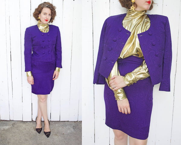 Christian Dior Silk/Wool Suit | Medium