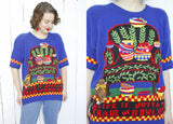 Mary Engelbreit Hand Knit Sweater L|XL