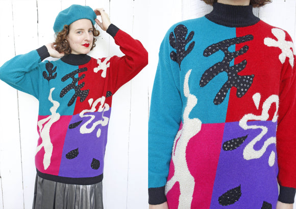 Matisse Inspired Sweater L|XL