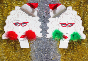 """Marabou Beach Holiday"" Earrings"