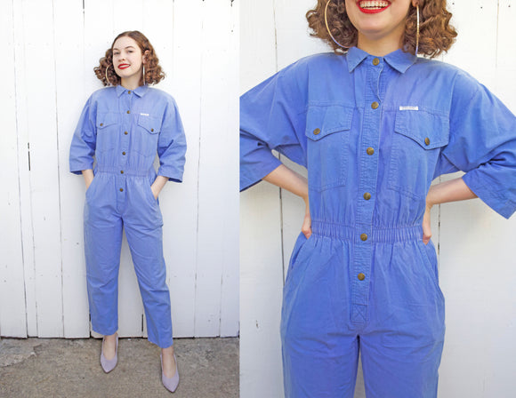 SOLD Periwinkle Dreams Jumpsuit | Petite S|M