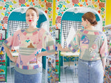Nannell Ice Cream Sundae Sweater | Medium