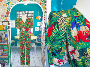Carol Anderson Tropical Jumpsuit | Small