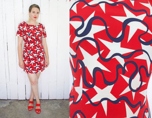 Stars and Squiggles Minidress | Medium