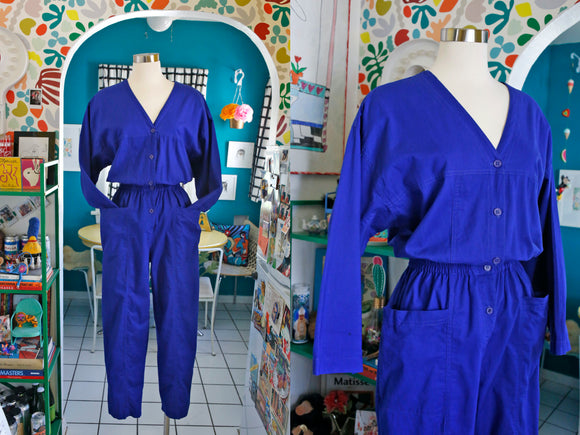 Diane von Furstenberg Cotton Jumpsuit | Large