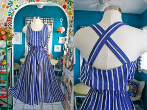 Together! Striped Sundress | Small or Medium