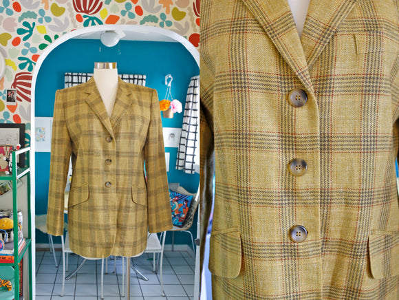 Chartreuse 'Clueless' Blazer | Large