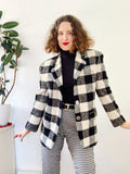 The Limited Buffalo Check Blazer | Large
