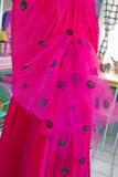 SOLD Jessica McClintock x Gunne Sax Magenta Dress | Small