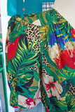 SOLD Carol Anderson Tropical Jumpsuit | Small