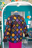 Colorful Patchwork Ribbon Jacket | Medium