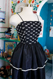 Bow Tiered Party Dress | XS