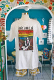 Novelty Edvard Moonch Cow T-Shirt | Medium