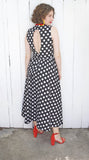 SOLD Lillie Rubin Polka Dot Sundress S|M