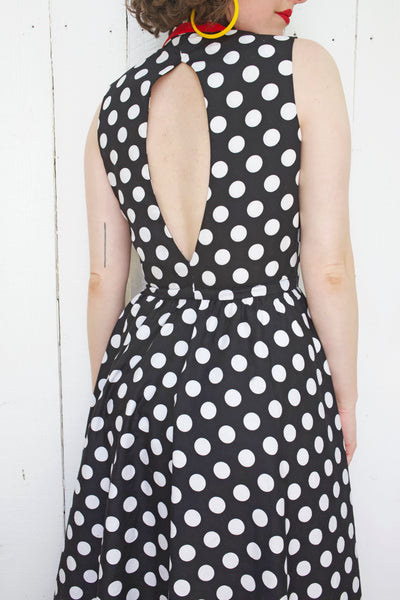 Lillie Rubin Polka Dot Sundress S|M
