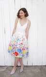 SOLD Lanz Colorful Floral Dress | Small