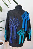 SOLD Tony Lambert Tree Sweater L|XL